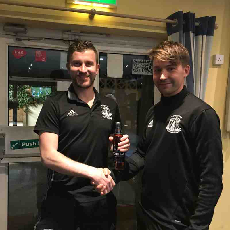 Man of the Match = Ted Meagor
