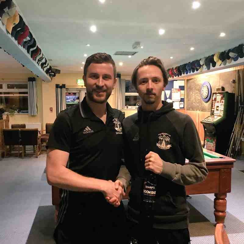 Sharps Brewery Man of the Match | Matthew Cleave