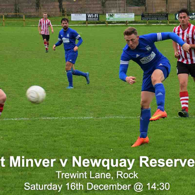 St Minver v Newquay
