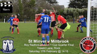 St Minver 1sts v Millbrook - Sat 14 Feb 2018