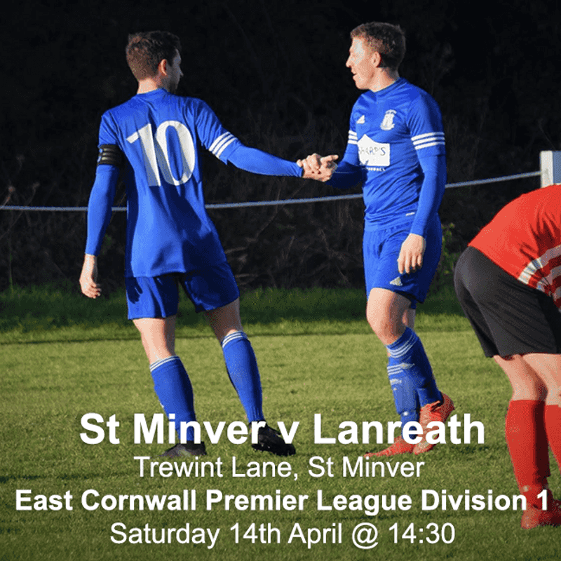 St Minver 1sts v Lanreath - Sat 14 Apr 2018