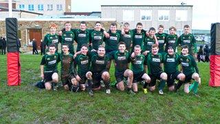 U16's winning team from 03/12/14