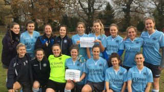 Ladies progress in Chairman's Cup