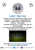 Ladies Open Day - Sunday 21st  July 2019