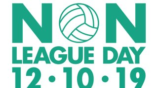 Non League Football Day - Saturday 12th October 2019