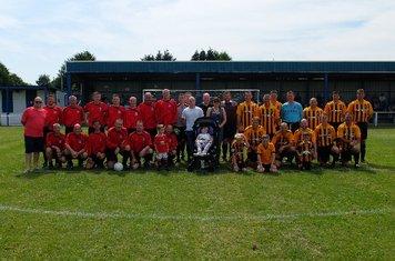 Veterans v Ex Tigers 2014