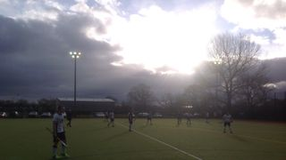 Yate vs Devizes 3-1 31/1. A freezing cold afternoon....