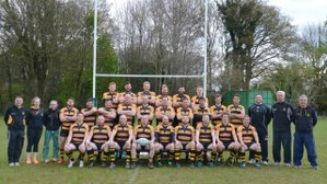 Belated report on the 1st XV's final battle against Guildford last season