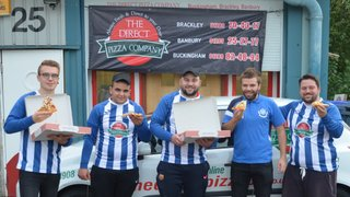 Buckingham United are delighted to announce Direct Pizza as the clubs newest sponsor.