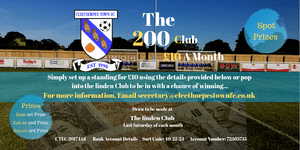 200 Club now open for September!