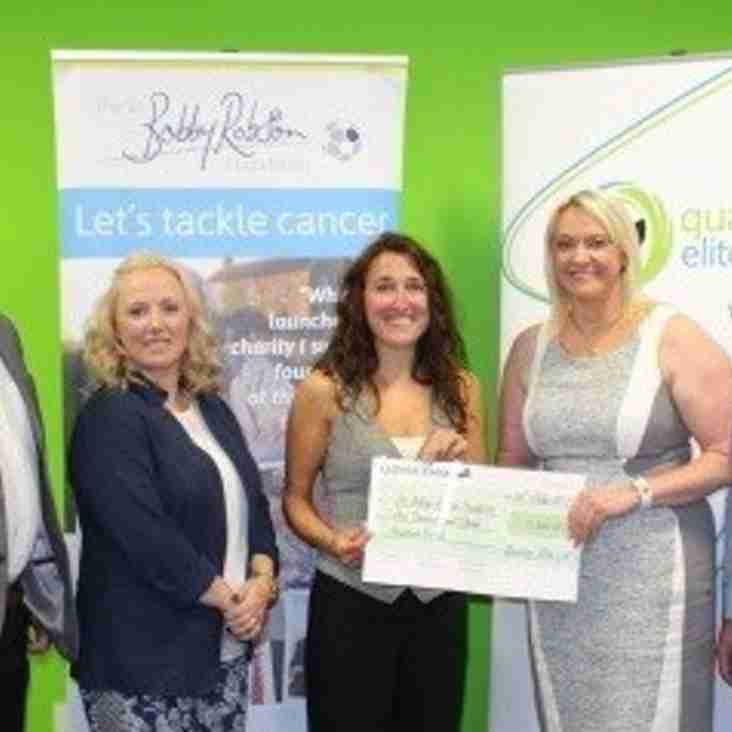 Spartans boost sponsor's donation to charity