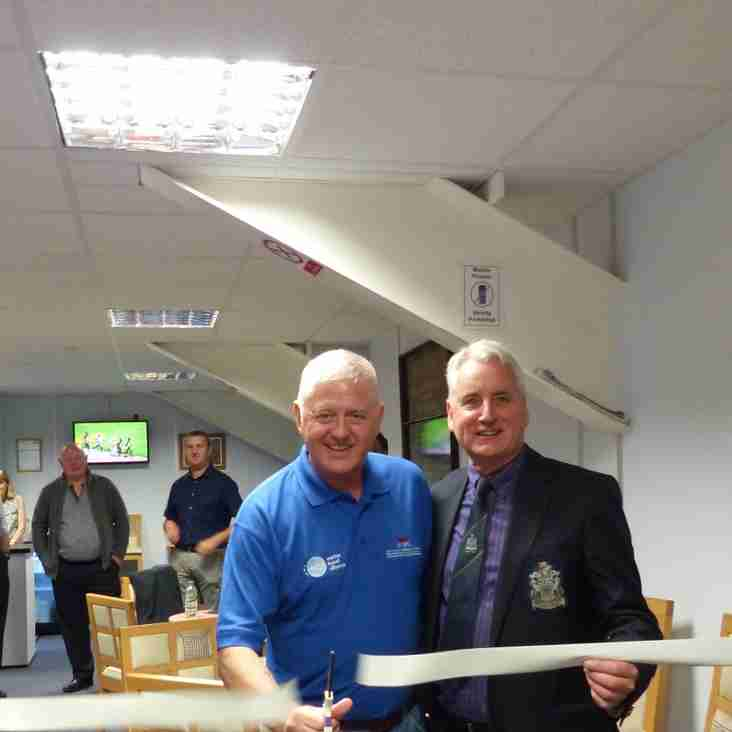 Sponsors open new community space