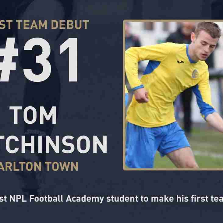 Tom makes history as first graduate