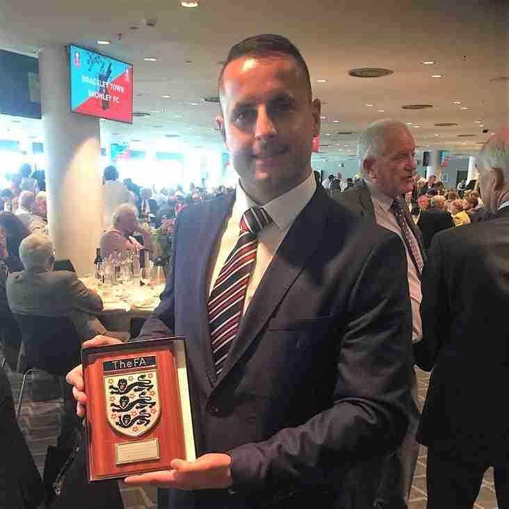 FA honour life-saving linesman