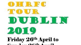 OHRFC Tour Dublin 2019