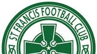 1s - NEXT UP - FRIENDLY v ST FRANCIS 1930 FC