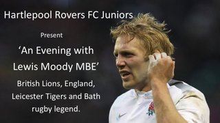 An Evening With Lewis Moody MBE