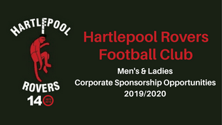 Sponsorship Opportunities at Hartlepool Rovers