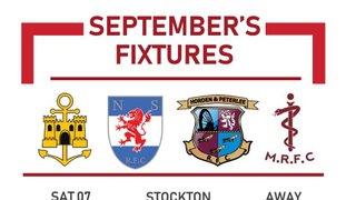 League Games for September