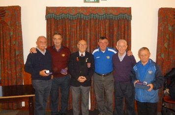 FA Long service awards for members of Maghull FC