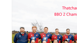 Thatcham 2nd XV BBO2 Champions 2014-15