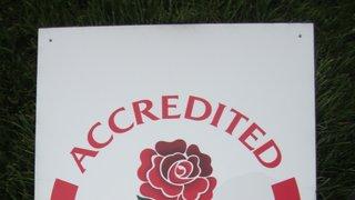 Accredited RFU Club.