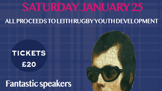 Leith Rugby's Burns Night