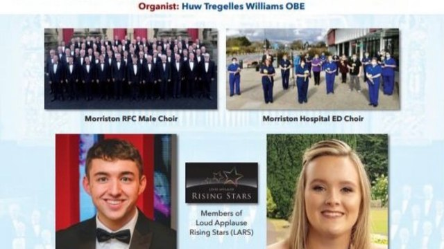 Morriston Rugby Choir Concert - Frank Groom