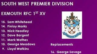 1st XV v Bracknell RFC