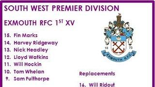 1st XV v Cleve RFC