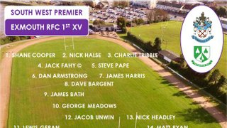 1st Team v Ivybridge RFC