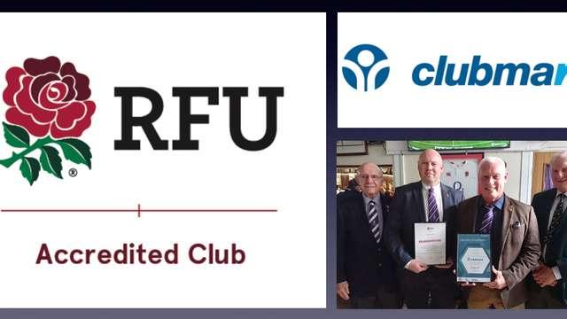 Cockles RFU Accreditation & Clubmark Award