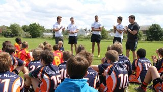 Elvers U11's at the Stoop June 2012 - pictures by Sarah Lawless