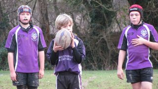 Under 12's vs Sidmouth 8/1/12