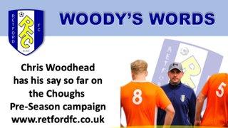 Woody's Words...