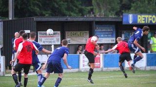Retford FC 2-0 Harworth Colliery : 23/07/19