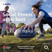 Summer 02 Touch is back! - Starting Thursday 9th May - 7pm