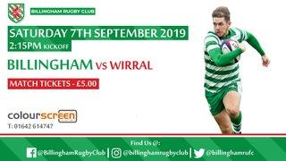 1st XV Squad Announcement vs Wirral