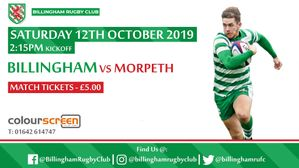 Preview: Billingham vs Morpeth 12/10/19