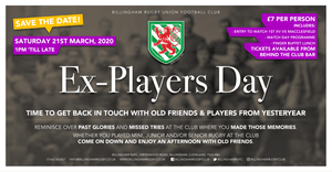 CALLING ALL EX PLAYERS: click to find out more