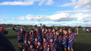 Sils U12's win the Land Rover Cup at Worcester