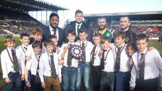 U10's Lift Trophy at Welford Road