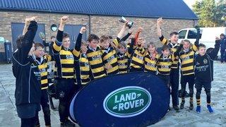 Hinckley Half Pint Hornets Win Land Rover Cup 2015