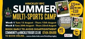 HRFC Community Programme Multi-sport Camp A