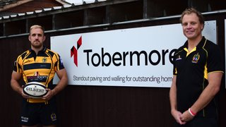 Tobermore announce Sponsorship of Hinckley Rugby Club