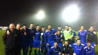 1st Team League Cup Champions 2014