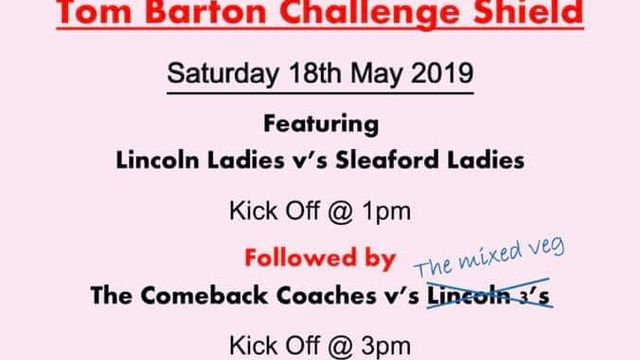 The Tom Barton Challenge Sheild
