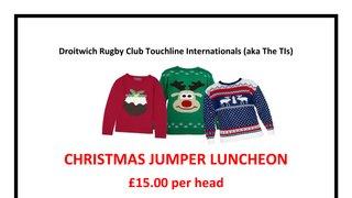 Touchline Internationals Christmas Jumper Luncheon