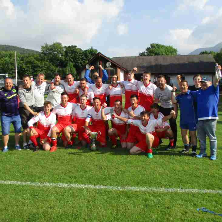 Job DUNN for Nefyn United as they win the NWCFA Junior Cup