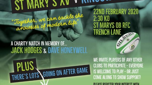 The 2nd Jack Hodges and Dave Honeywell memorial game.
